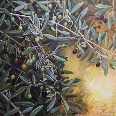 Eirini_Karpikioti-Olive-80X80cm