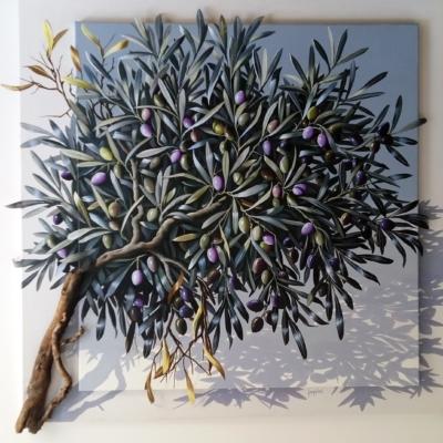 Sylvana Samartzidou Small olive tree