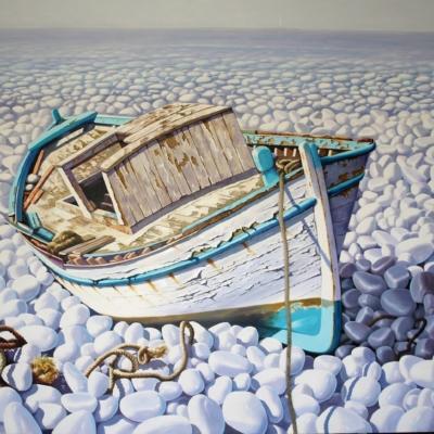 Sylvana Samartzidou Blue Boat